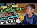 Download Lagu VIDEO LUCU - DISURUH BUKAIN PINTU MALAH BUKA PUASA Mp3 Free