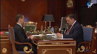 Андрей Никитин поделился подробностями своей встречи с премьер-министром Дмитрием Медведевым