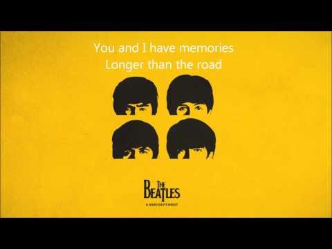 Two of us The Beatles Lyrics