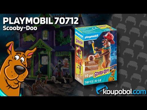 Vidéo PLAYMOBIL Scooby-Doo! 70712 : Scooby-Doo Pompier