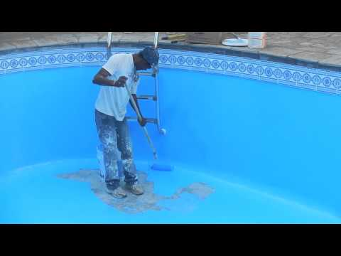 La piscina pitturata