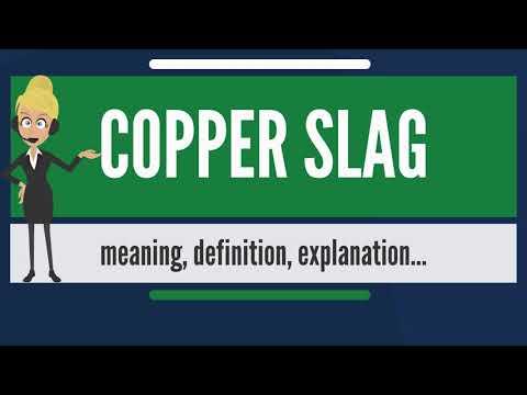 Copper Slag - Granulated Copper Slag Latest Price, Manufacturers