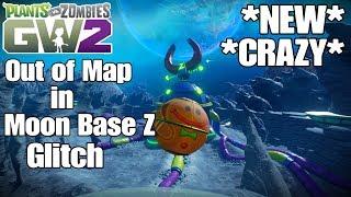 Plants vs Zombies Garden Warfare 2 Out of Map in Moon Base Z Glitch