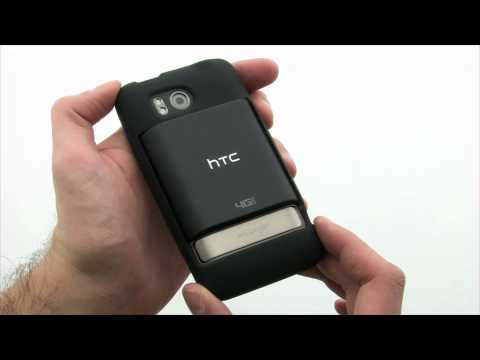 Mobi Products Extended Battery Fit Skin Case for HTC Thunderbolt