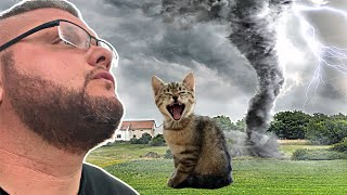 🌪TORNADO WARNING!!! WE LOST OUR CAT! 😱