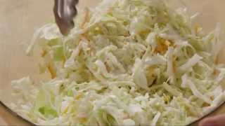 How To Make Restaurant Style Coleslaw | Salad Recipe | Allrecipes.com