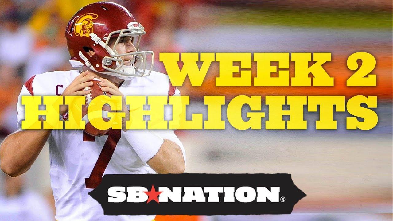 College Football Week 2 Highlights: The Cheat Sheet thumbnail