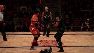 Lucha Underground 10/12/16 Pentagon Dark Vs Rey Mysterio Jr Vs Chavo Guerrero Jr