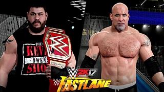 WWE Fastlane 2017: Kevin Owens vs. Goldberg (Universal Championship)