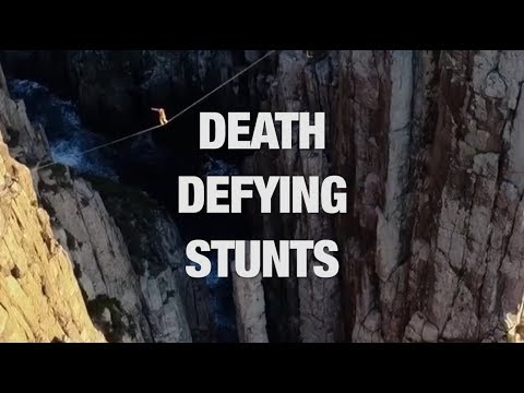 These Death Defying Stunts Will Leave You Shook (видео)