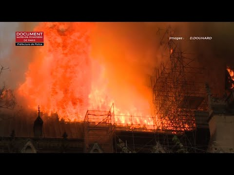 Firefighters declared success Tuesday in a more than 12-hour battle to extinguish an inferno engulfing Paris' iconic Notre Dame cathedral that claimed its spire and roof, but spared its bell towers and the purported Crown of Christ. (April 16)