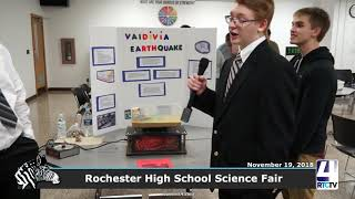 Rochester High School 2018 Science Fair - 11-19-18