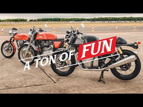 2020 Royal Enfield Continental GT 650 in Tarentum, Pennsylvania - Video 2
