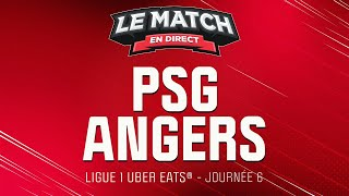 ???? Le Match en direct : PSG 6 - 1 Angers (football)