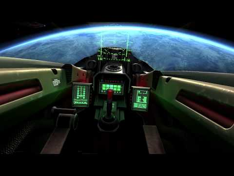 Intercepción de objeto por parte de tres cazas espaciales - YouTube