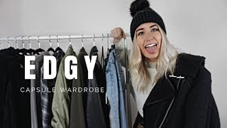 MY CAPSULE WARDROBE L EDGY FASHION TRENDS