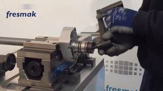 What can be done if the mechanical spindle of the ARNOLD MAT vice is too tight