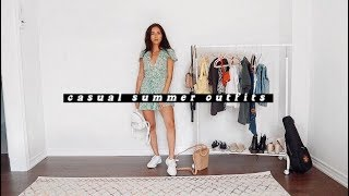 CASUAL SUMMER OUTFIT IDEAS  | Summer Lookbook 2019