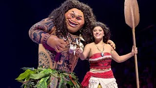 "Moana & Maui ""You're Welcome"" Disney On Ice Presents Dare to Dream in Orlando, Disney Princess"