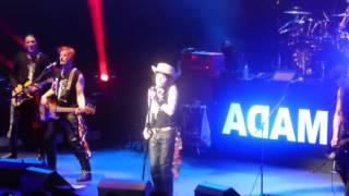 Adam Ant - Royal Albert Hall 17.5.2017: Strip