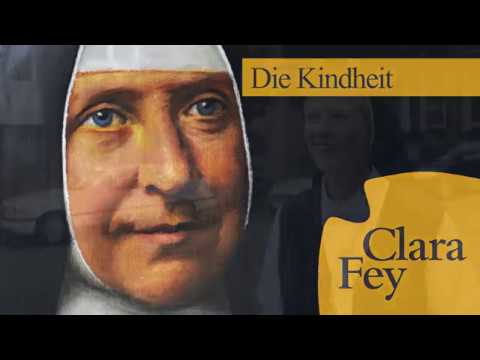 Clara Fey - Die Kindheit