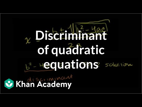 nature of roots of quadratic equation pdf