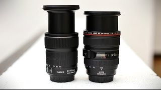 Canon 24-105mm f/3.5-5.6 IS STM lens review with samples (APS-C and full-frame)