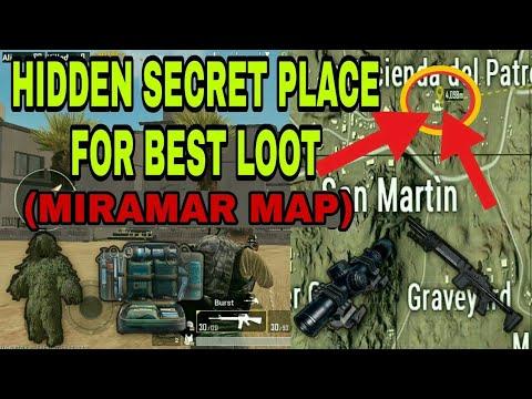 Pubg mobile - hidden secret place for best loot spot to get