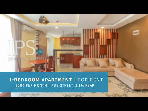 1 Bedroom Apartment For Rent - Old Market  Pub Street, Siem Reap thumbnail