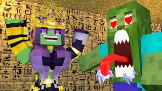 Best love story  Minecraft animation Life of Zomma & Zombo