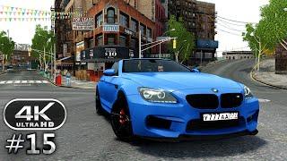 Grand Theft Auto 4 4K Gameplay Walkthrough Part 15 - GTA 4 4K 60fps