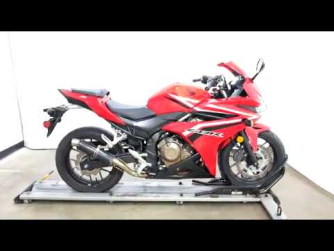 2017 Honda CBR500R in Eden Prairie, Minnesota - Video 1