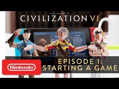 Sid Meier's Civilization VI – Episode 1: Starting a Game – Nintendo Switch
