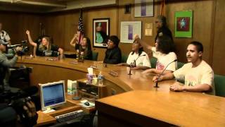 Youth take over TUSD Board Meeting- RAW Video