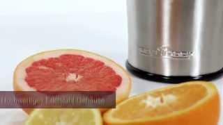 Соковыжималка для цитрусовых Profi Cook  1018 PC-ZP Германия от компании PolyMarket - видео