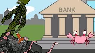 Лучшее видео года:Ограбление банка