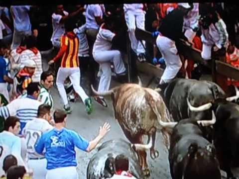 Bull Run 14.07.2013 { Pamplona } 8 End  Rep