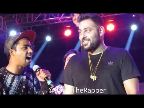 Raahi performing LIVE with Badshah in Bangalore   2016   Desi Rebel