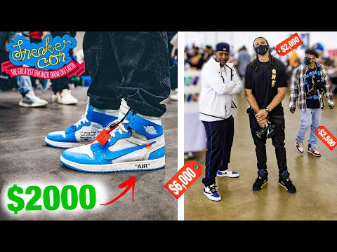 How Much Is Your Outfit At Sneaker Con Dallas 2021