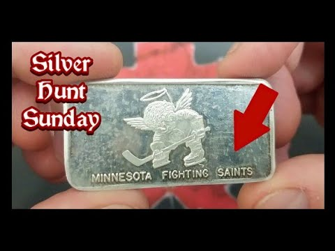 Liberty Lobby silver round, WHA silver bar & More. Some unique items for Silver Hunt Sunday