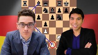 Fabiano Caruana vs Wesley So | 2018 Candidates Chess Tournament