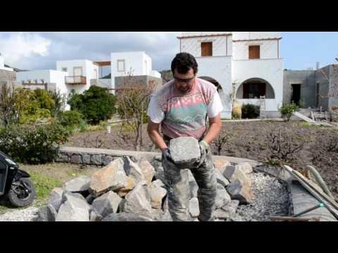 Обработка природного камня для строительства 1