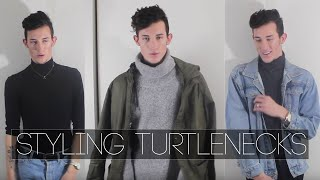 WINTER TURTLENECK LOOKBOOK 2016   Men's Fashion