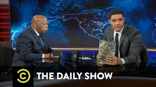 John Lewis Extended Interview - Getting Into Trouble to Fight Injustice: The Daily Show