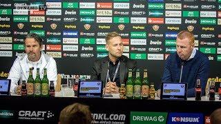 6. Spieltag | SGD - D98 | Pressekonferenz nach dem Spiel