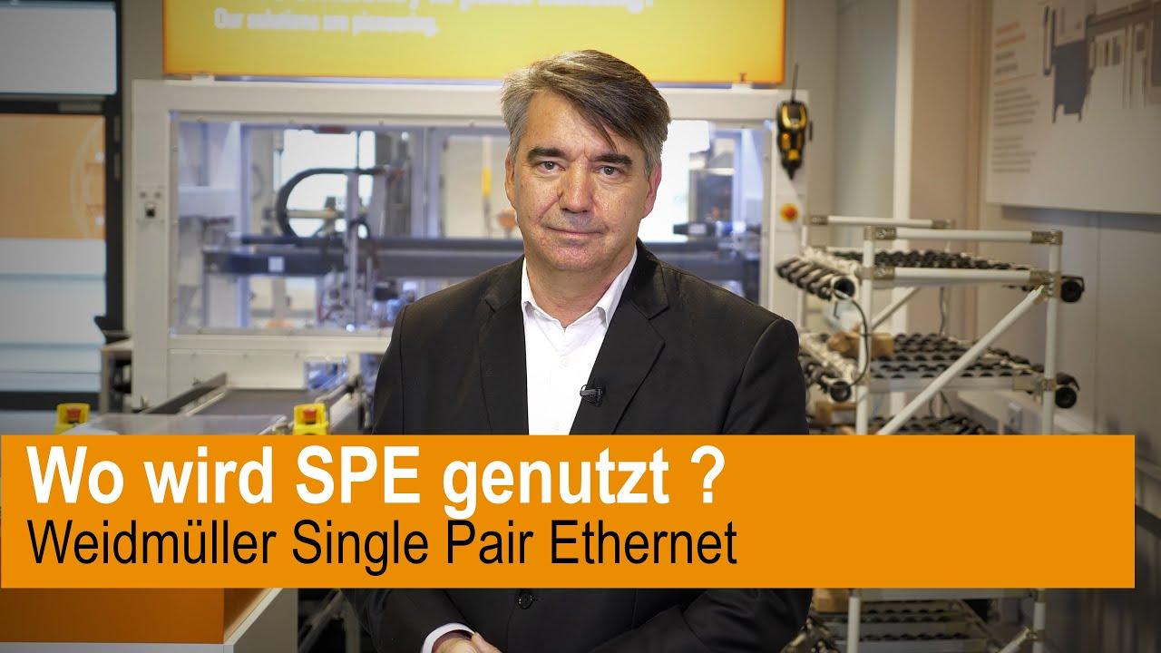 Wo wird Single Pair Ethernet genutzt?