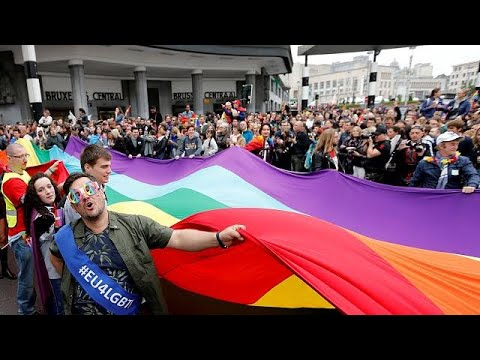 Gay Pride-Bρυξέλλες: Τούρκοι ακτιβιστές μιλούν για την καταστολή στην πατρίδα τους…