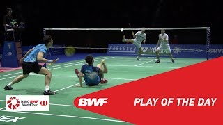 Play of the Day | YONEX Swiss Open 2019 Semifinals | BWF 2019
