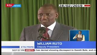 CS ROTICH FAILED RESCUE: How DP Ruto came to his defense, dismissing dams scandal
