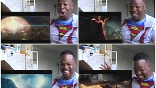 Batman v Superman: Dawn of Justice - Comic-Con Trailer [HD] REACTION!!!